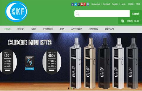 电子烟商城案例