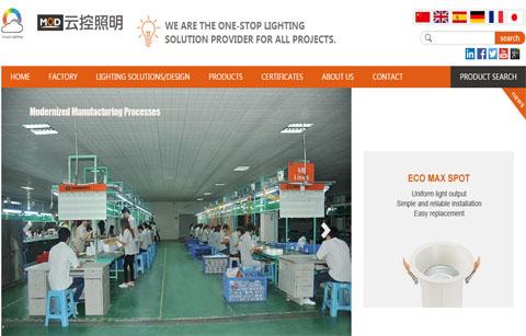 外贸LED网站案例